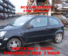 FORD  FIESTA  MK6   PASSENGER SIDE  DOOR INC  WINDOW / GLASS